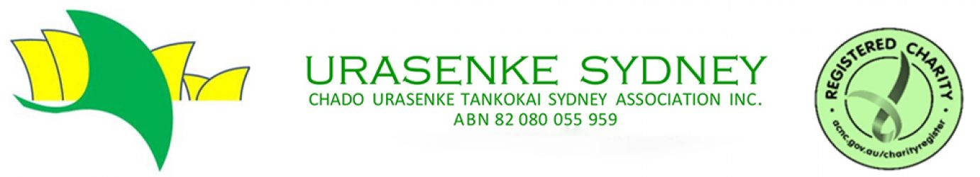 Urasenke Sydney